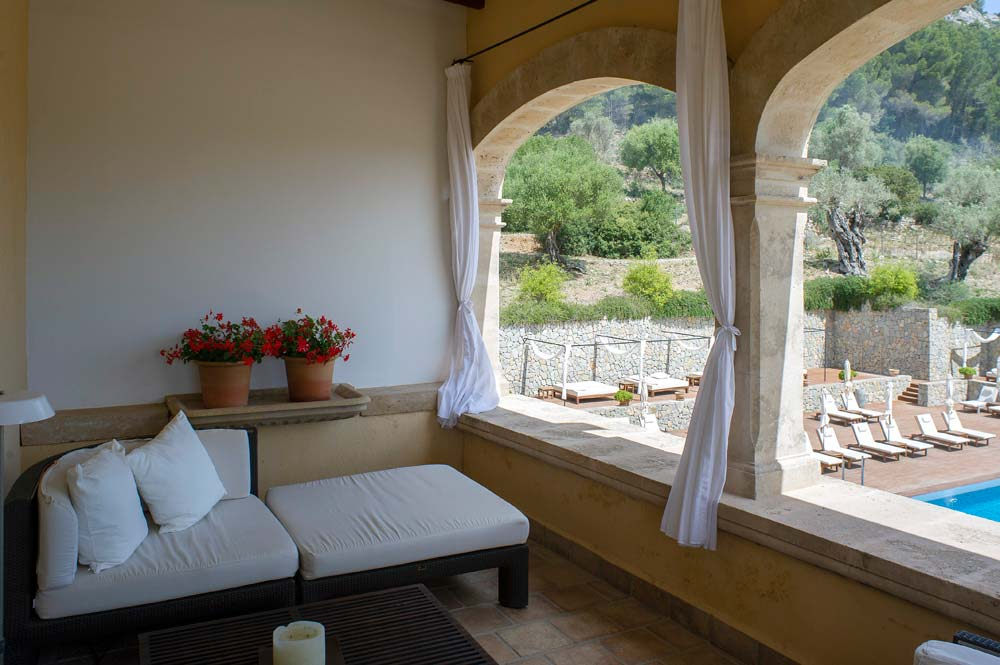 Son Brull Hotel Double Terrace Hotel Countryside View