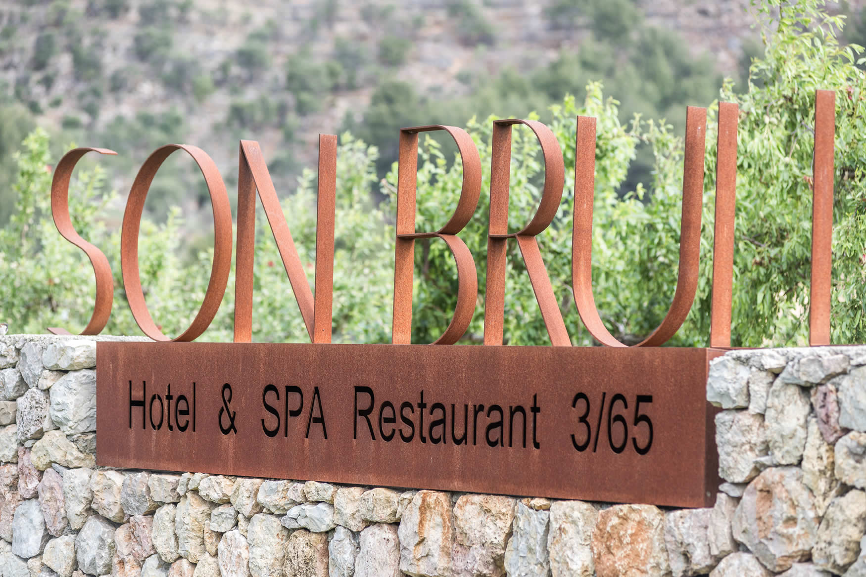 Son Brull Hotel Entrance